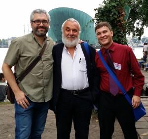 Fernando Ortiz de Urbina, Francesco Martinelli, and their biggest gringo jazz fan