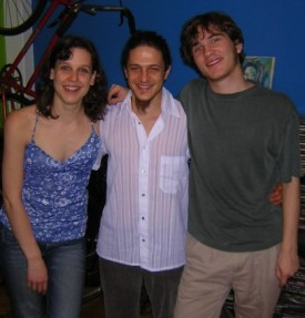 Paula, Santi, and Alex