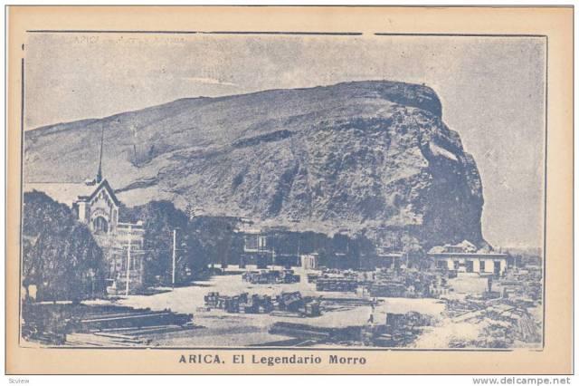 Arica postcard